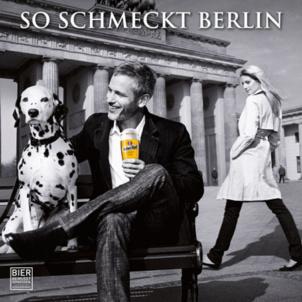 Dalmatiner Sina schmeckt Berlin